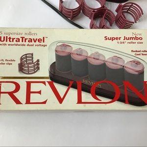 Revlon ultra supersize travel hot rollers
